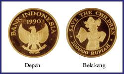 200000 RUPIAH INDONESIA DARI EMAS / KENCANA