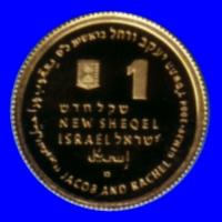 SUATU MATAUANG ISRAEL 1 SHEQEL (SYEQEL) BARU 2004 , KESILAPAN: HILANG / LAYU